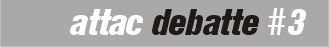 attac debatte logo