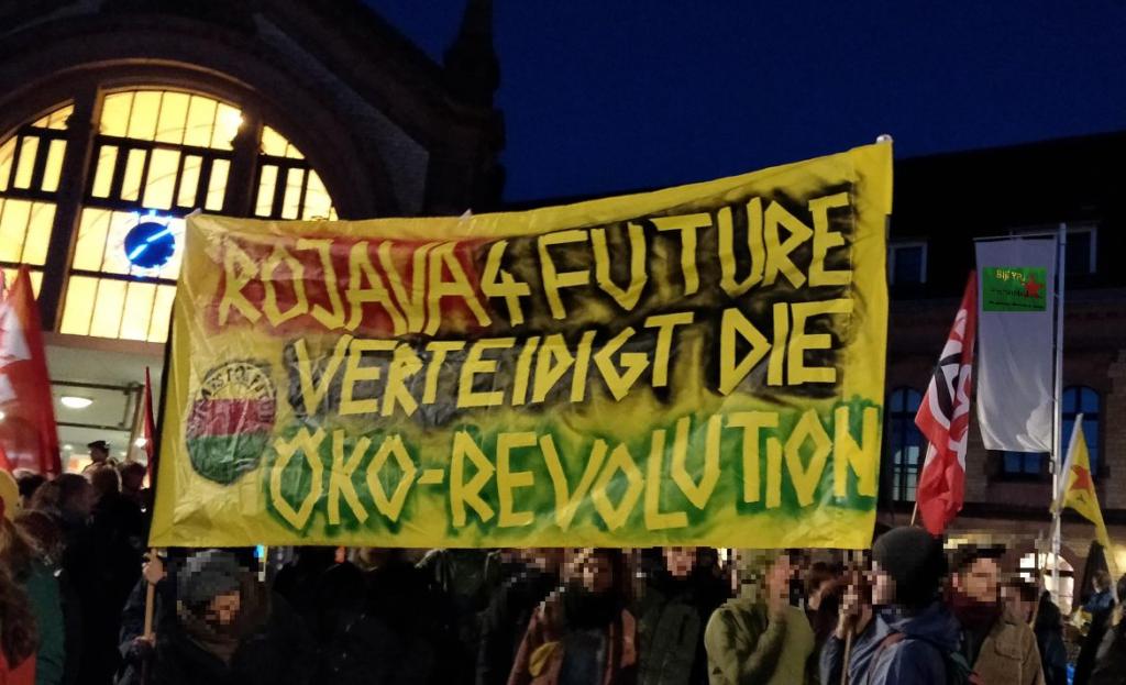 Gegen den völkerrechtswidrigen Angriffskrieg der Türkei in Rojava