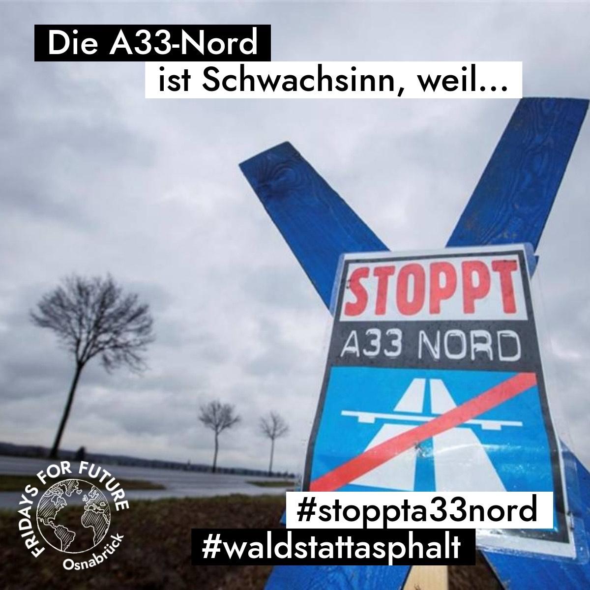 "Fridays For Future Osnabrück Videoreihe Stop A33-Nord"""